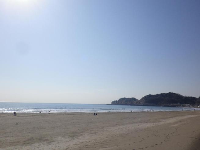 鎌倉の海岸