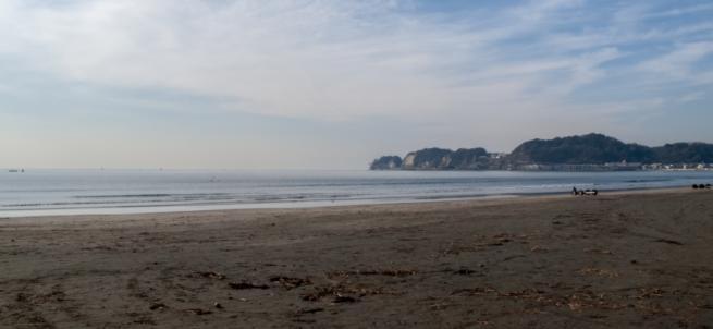 材木座の海